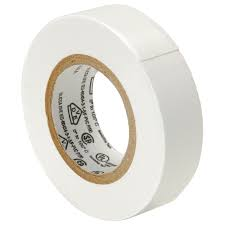 PVC Insulating Tape: White