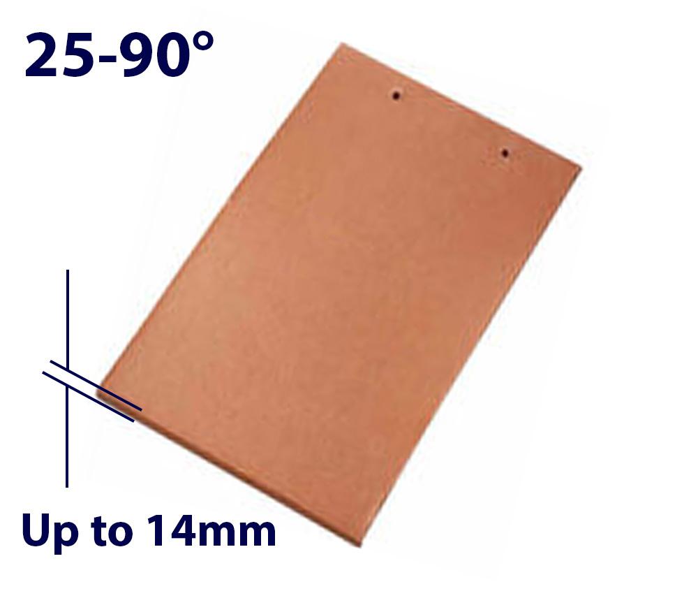 Velux EDP FK06 660 x 1180mm Standard - Single plain tile flashing