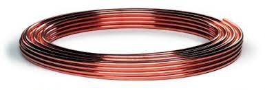 Copper Tube 10mm x 10m Coil