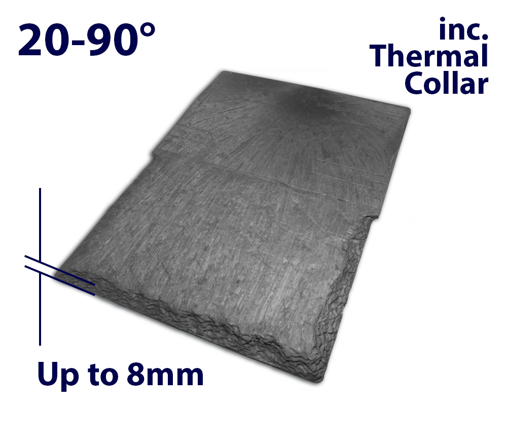 Velux EDN UK08 1340 x 1400mm Recessed - Single slate flashing (inc. Insulation Collar)