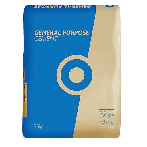 Tarmac Blue Circle General Purpose Cement (25kg Paper)