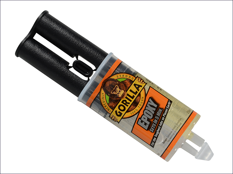 Gorilla 5 Min 2-Part Epoxy Syringe Glue - 25ml