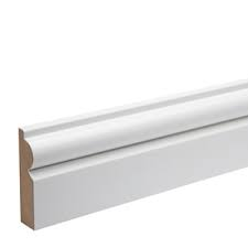 18 x 69mm MDF Pre-Primed Torus Architrave
