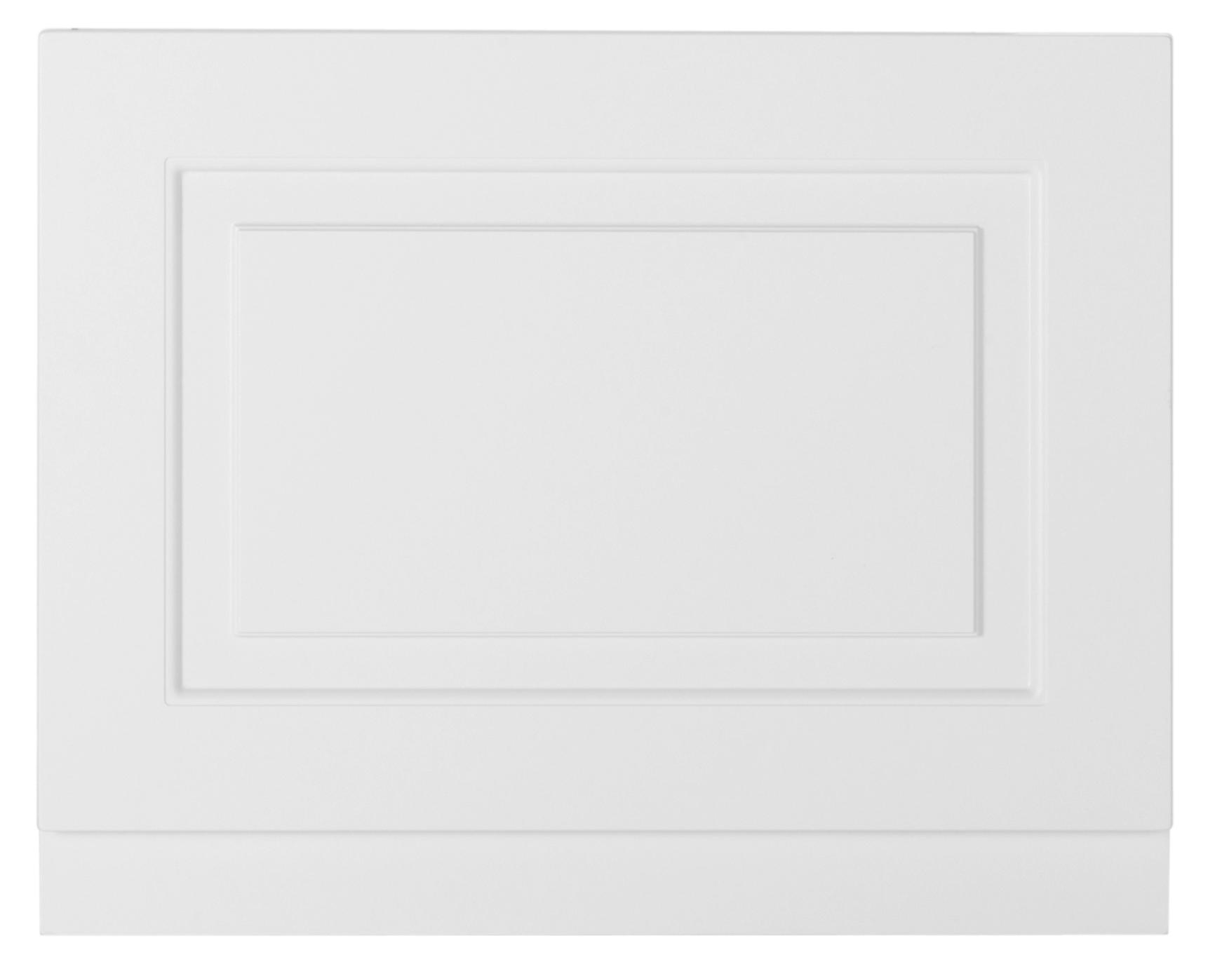 K-Vit Astley - Bath Panel 750mm Porcelain White Ash
