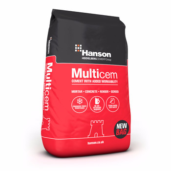 Hanson Multicem General Purpose 32.5N Cement (25kg Paper)