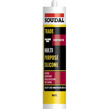 Soudal Trade Multi-Purpose 300ml Silicone - Black