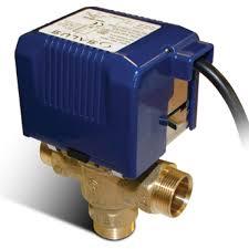 Salus 22mm 3 port valve SPMV32 (Premium) plug and play connection