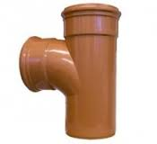160mm Underground 90' Double Socket Equal Junction