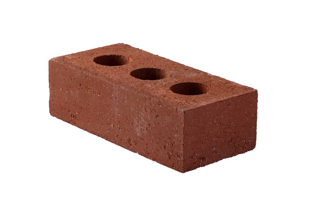 65mm Edenhall Red Class B Perforated Engineering Brick