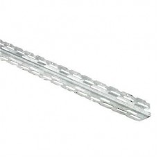 Thin Coat Galvanised Plaster 22mm Angle Bead (2.4m)