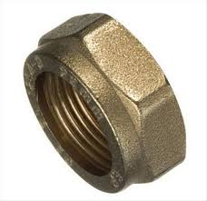 Brass Spare Nut 22mm