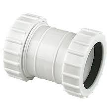 40mm Mechanical Waste Straight Connector