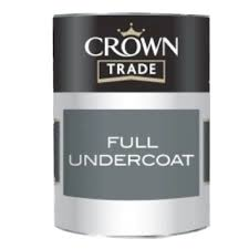 Crown Trade - Undercoat - White - 1L