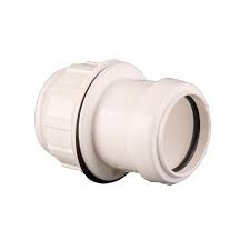 32mm Push Fit Waste Tank Connector - White