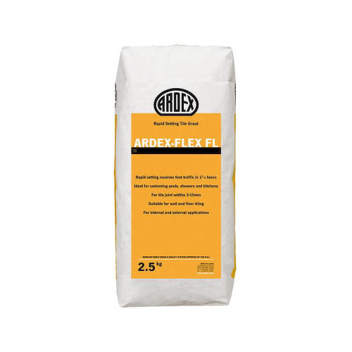 Ardex FL Rapid Set Flexible Tile Grout - White - 2.5kg