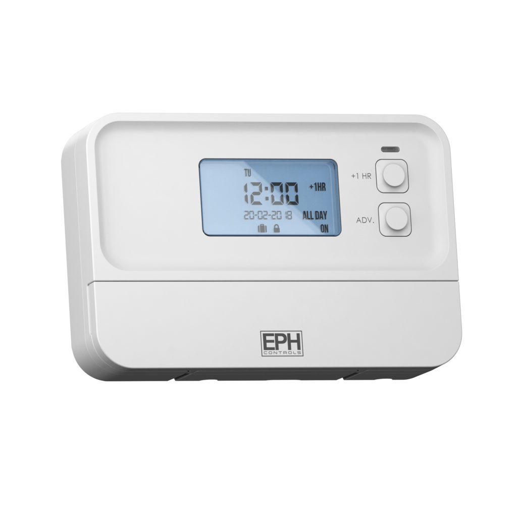 EPH 2 Zone Programmer, 7 Day, 5 / 2 Day or 24 Hour (c/w 230V contacts)