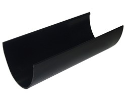 Deepflow Gutter 4m - Black
