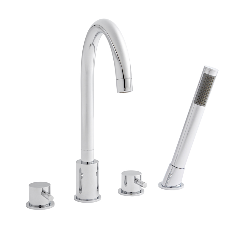 K-Vit Plan 4 Hole Bath Shower Mixer