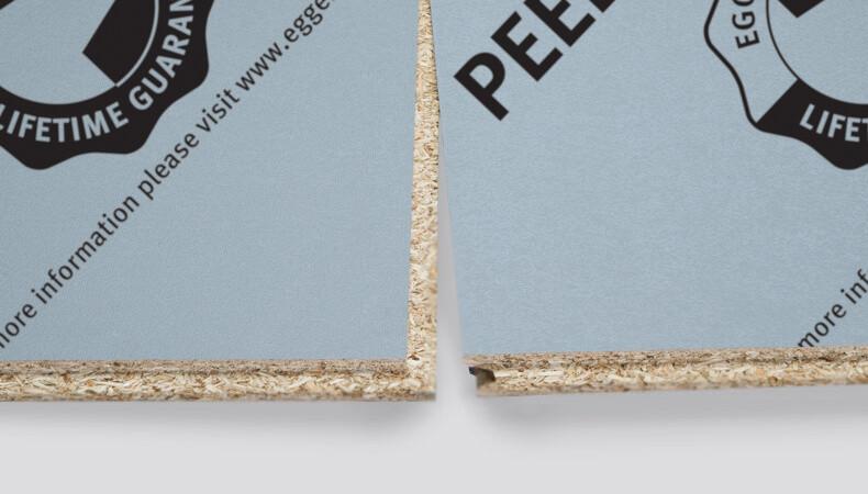22mm P5 Egger Peel Clean Xtra Chipboard Flooring & Film Top (2400 x 600mm / 8' x 2')