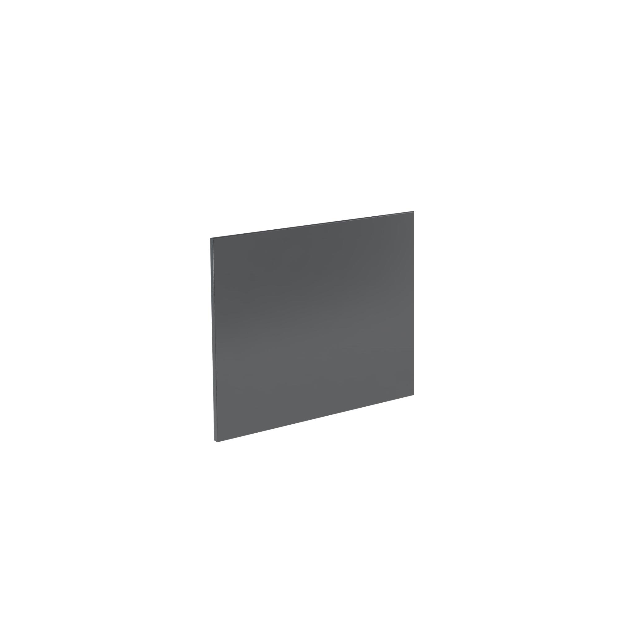 K-Vit Ikon 700mm Bath Panel - Gloss Grey