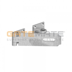 "GateMate 180mm (7"") Heavy Duty Saftey Hasp & Staple - Galv"