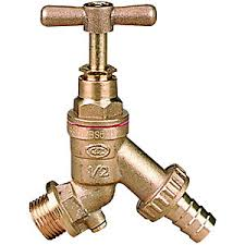 "1/2"" Brass Hose Union Bibcock Tap (c/w Check Valve) (WRAS)"
