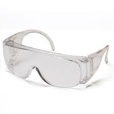 Ox Pro Wrap Around Safety Glasses - Smoked