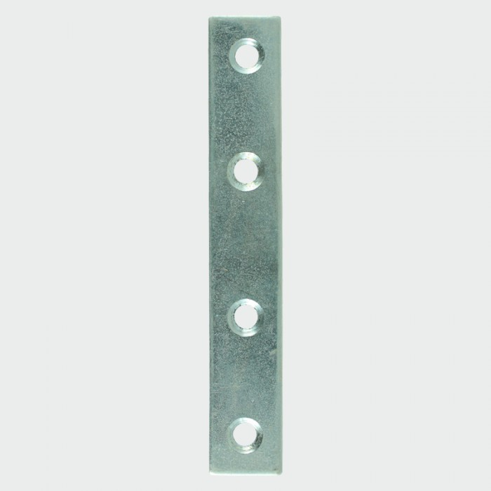 Timco 100mm x 22mm Mending Plates (Zinc Plated) - Pack of 4
