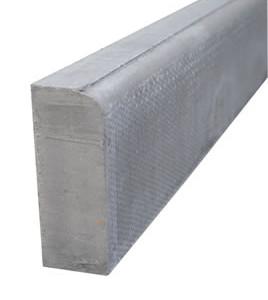Bullnose Concrete Path Edging - 50 x 150 x 900mm
