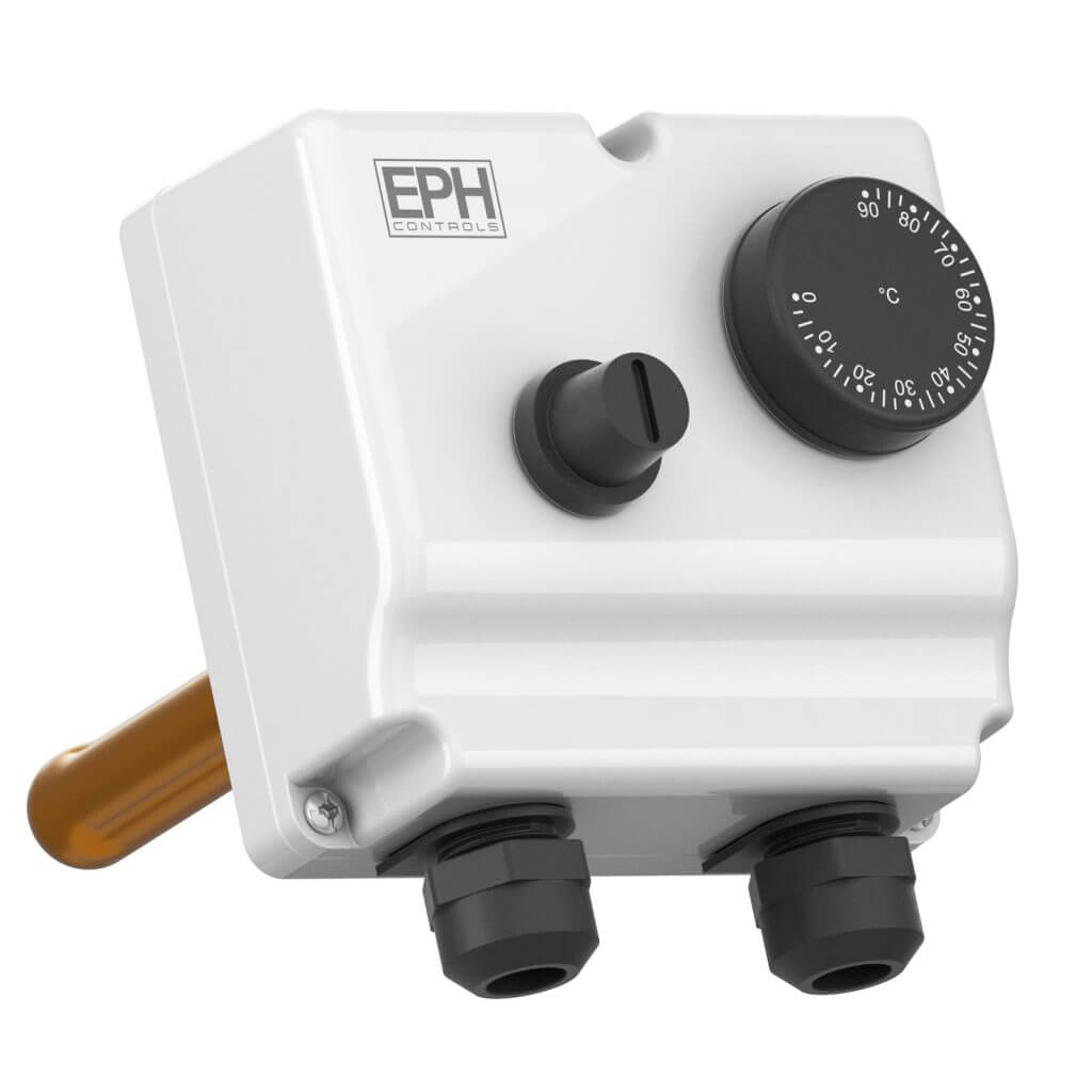 EPH Dual Thermostat c/w Immersion Pocket