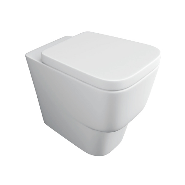 K-Vit Napoli Back To Wall Pan (Seat Not Included)