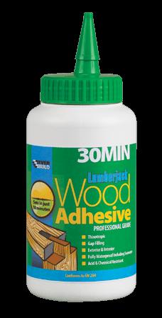 Everbuild Lumberjack 30min Polyurethane D4 Wood Adhesive - 750G