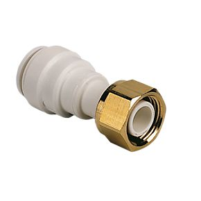 John Guest Speedfit 22mm Straight to 3/4 Tap Connector