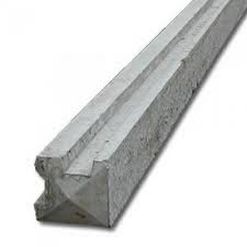 Concrete Corner Slotted Fence Post - 8' (2.4m)