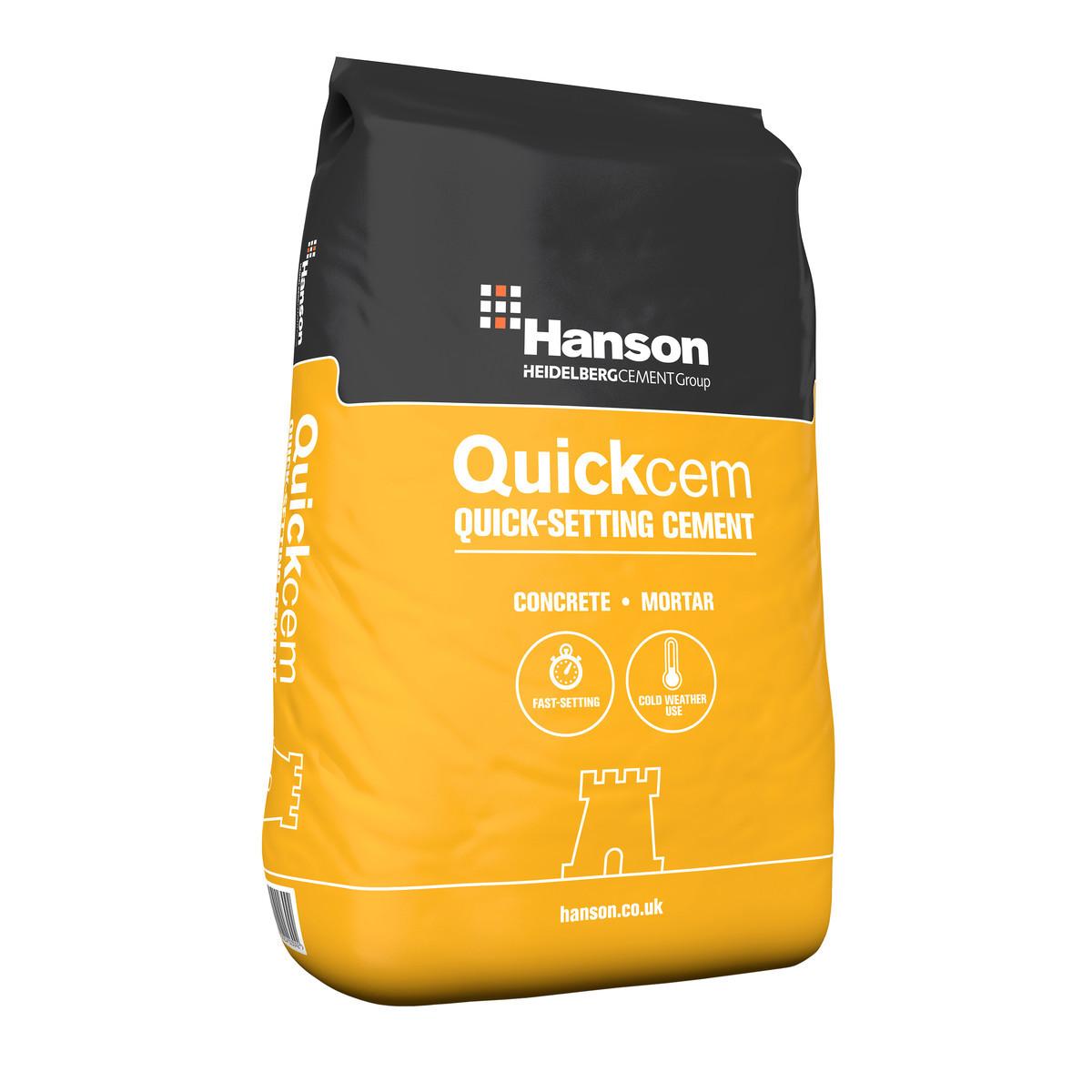 Hanson QuickCem Rapid Setting Cement (25kg)