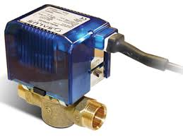 Salus 22mm 2 port valve SPMV22 (Premium) Plug and play connection
