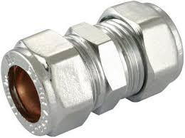 22mm Chrome Compression Coupling