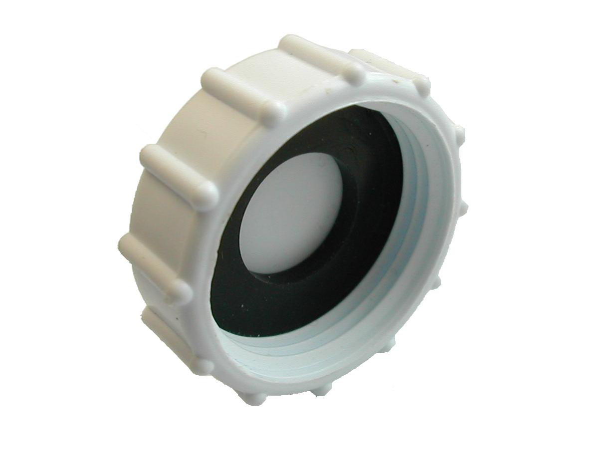 "1"" PVC Plastic Blanking Nut/End Cap"