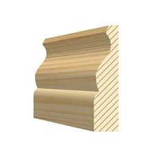 Ogee Softwood Architrave - 25 x 63mm