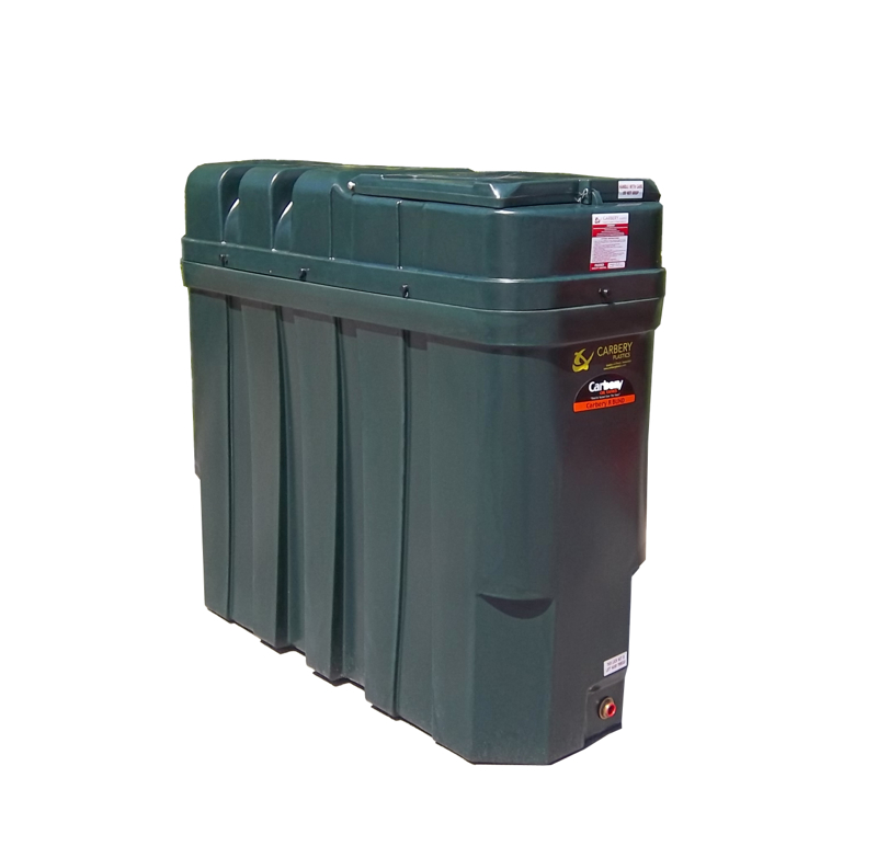 Carbery 1000L Superslim Bunded Oil Tank