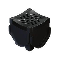 Plastic Channel Quad Connector/Corner