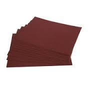 Aluminium Oxide Hand Sheets: 230 x 280mm; 120G