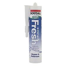 Soudal StayFresh Sanitary 300ml Silicone - Ice White