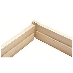 """4.25"""" (32x115mm) Door Liner Set (w/ Stops, 2'6"""" & 2'9"""")"""