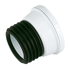 110mm Spigot Pan Connector: Straight