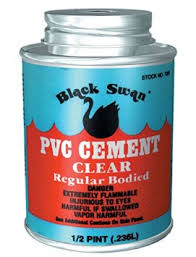 236ml Black Swan uPVC Cement