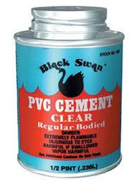 236ml Black Swan uPVC Cement