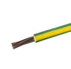 6mm x 50m Green & Yellow Earth Cable