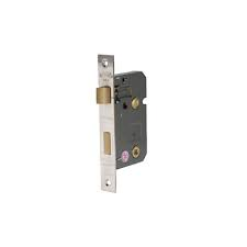 Eclipse 76mm Reversable Bathroom Lock - Nickel Plated