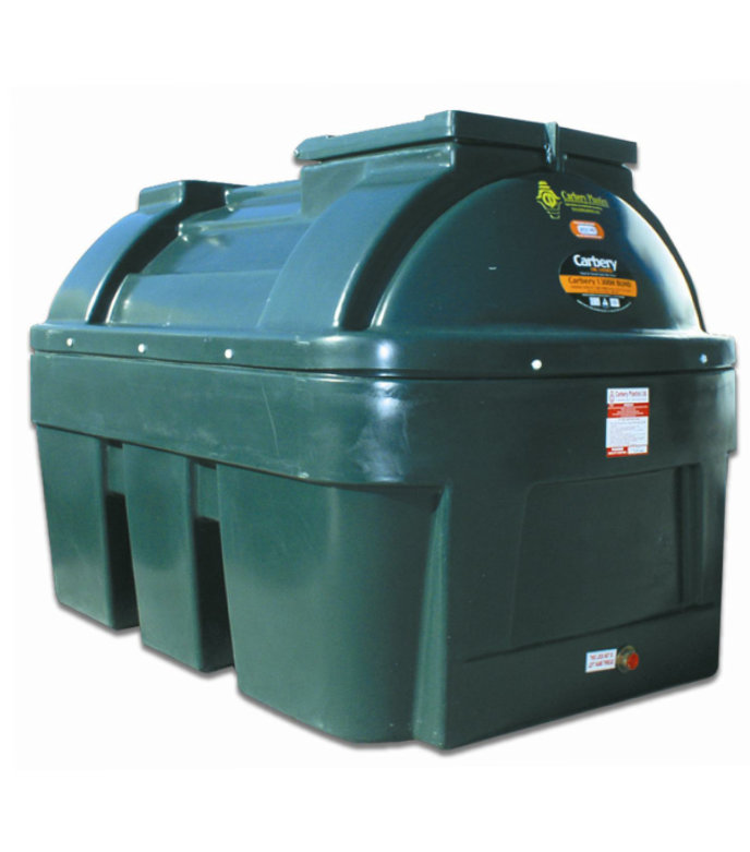 Carbery 1350L Horizontal Bunded Oil Tank